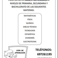 Se ofertan Clases Particulares