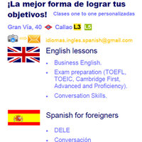 Profesora de Inglés - English Teacher