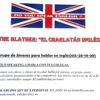 The blather: el charlatán inglés sólo speaking