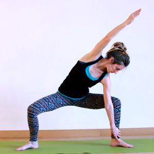 yoga una persona