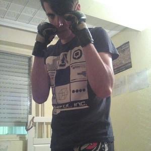 boxeador de artes marciales mixtas
