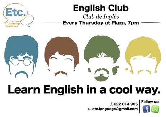 Mariano Sagunt Valencia Etc Language Resources English Club Learn English In A Cool Way